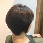ショートも髪質改善で扱いやすく!
